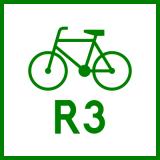 Znak R-2 Szlak rowerowy międzynarodowy R-2 - drogowy - Rodzaje znaków drogowych: jaki jest podział oznaczeń drogowych? Z przykładami