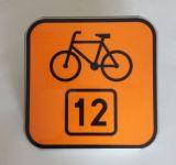 Znak R-4 Informacja o szlaku rowerowym R-4 - drogowy - Znaki szlaków rowerowych