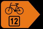 Zmiana kierunku szlaku rowerowego R-4b