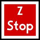 Znak tramwajowy BT-4 zakazu - Stop - zwrotnica eksploatowana jednostronnie